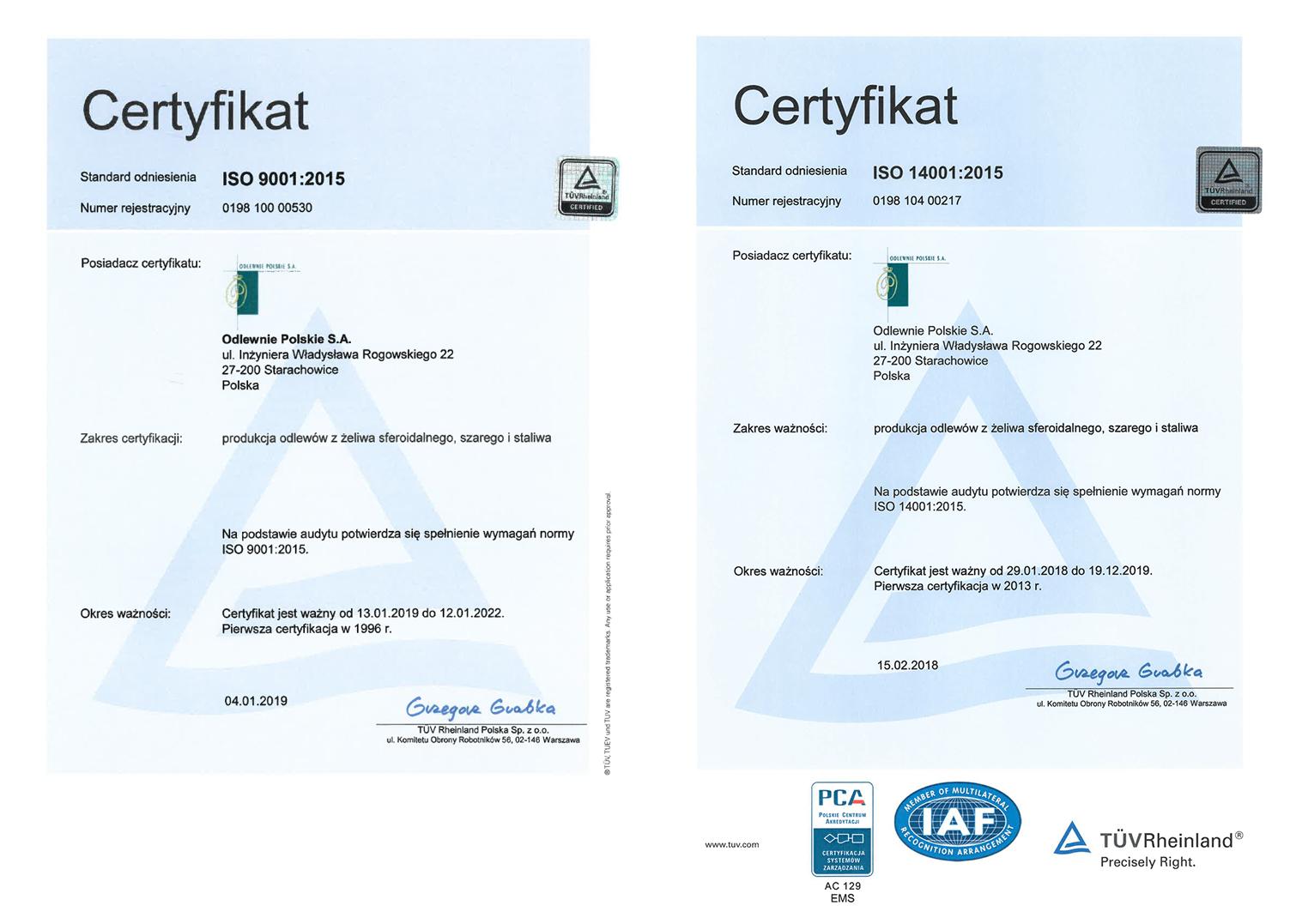 OPSA_certyfikaty_ISO_2015