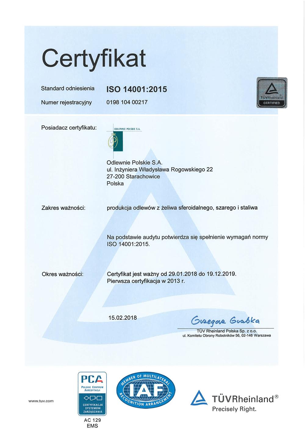 certyfikat_ISO14001-2015_akredytacja_PCA_pl